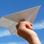 Научите ребенка делать самолет