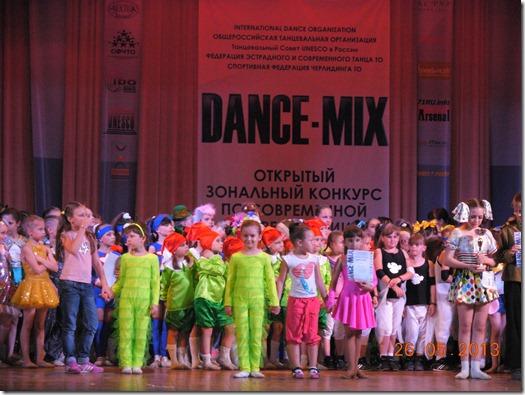 выступление на открытом конкурсе по хореографии