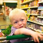 Истерика ребенка в магазине
