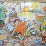 Мальчик Петя и его болезнь «капризит»