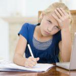 Дочка не может сама учить уроки. Нужна мама…Почему?
